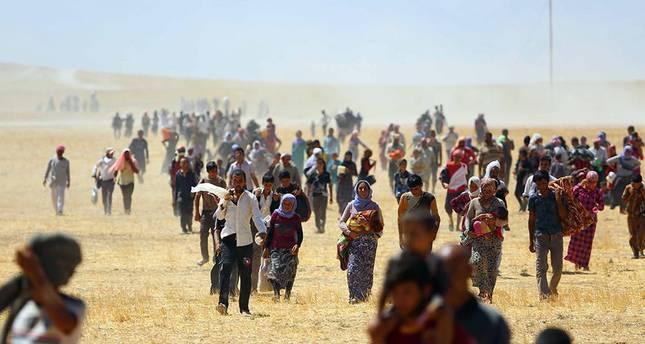 Mahsur kalan binlerce Yezidi kurtarıldı